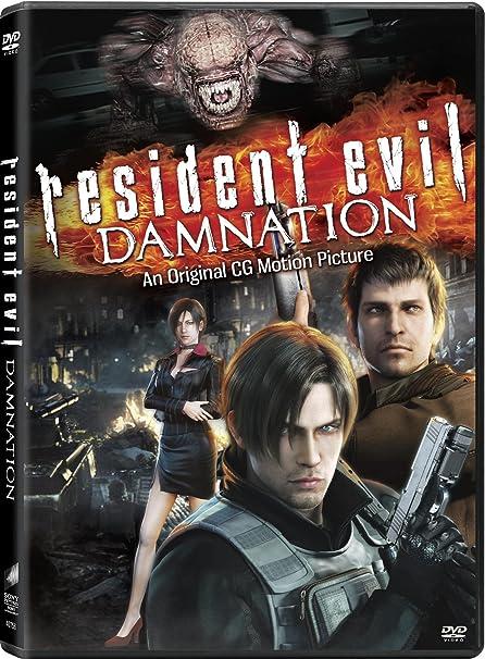 Amazon Com Resident Evil Damnation Makoto Kamiya Hiroyuki