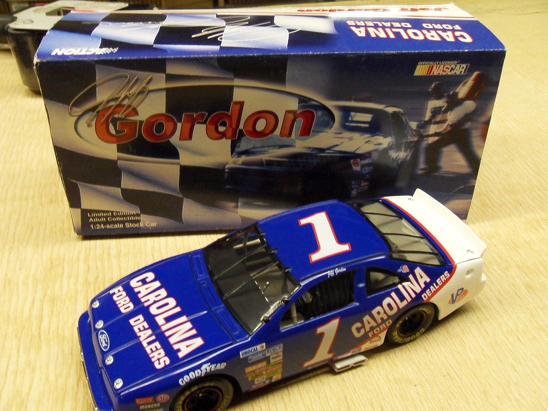 Jeff Gordon #1 1:24 1991 Carolina Ford Limited Edition Stock Car Collectible