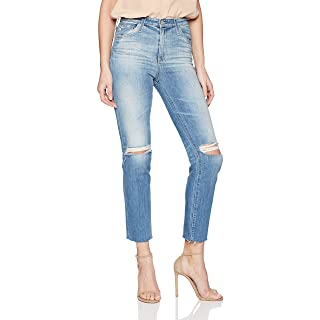 AG Adriano Goldschmied Women's The Isabelle High Rise Straight Jean, Years Saltwater, 31