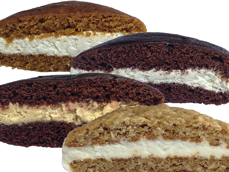 Bird-in-Hand Bake Shop Homemade Whoopie Pies, Variety Pack, Favorite Amish Food (Pack of 12)