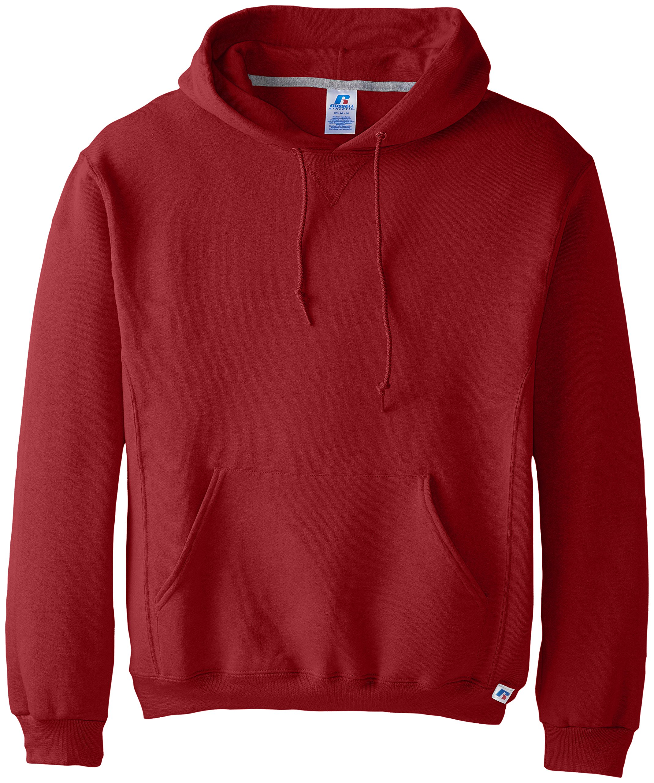 Russell Athletic Men's Dri Power Pullover Fleece Hoodie, Cardinal, 4X-Large