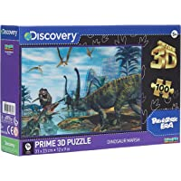 Discovery Licensed - Dinosaur Marsh 3D Puzzle - 100 Pcs