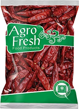 Agro Fresh Premium Guntur Chilly, 100g