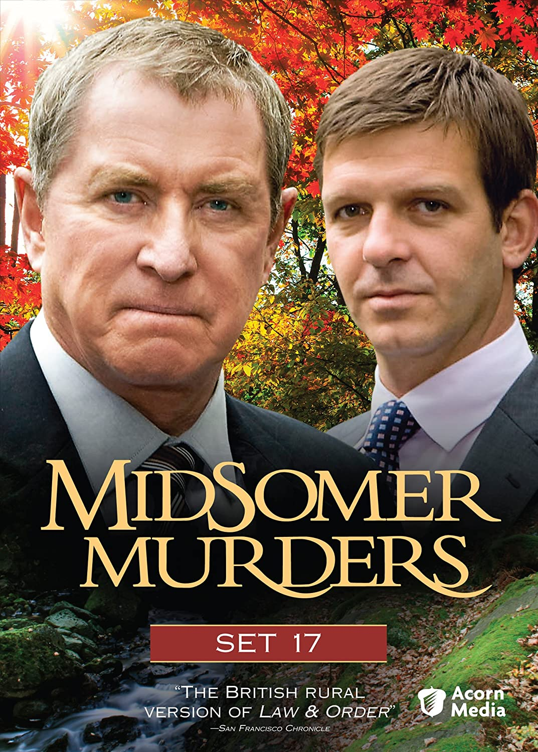 Midsomer Murders: Set 17 (The Dogleg Murders / The Black Book / Secrets and Spies / The Glitch)