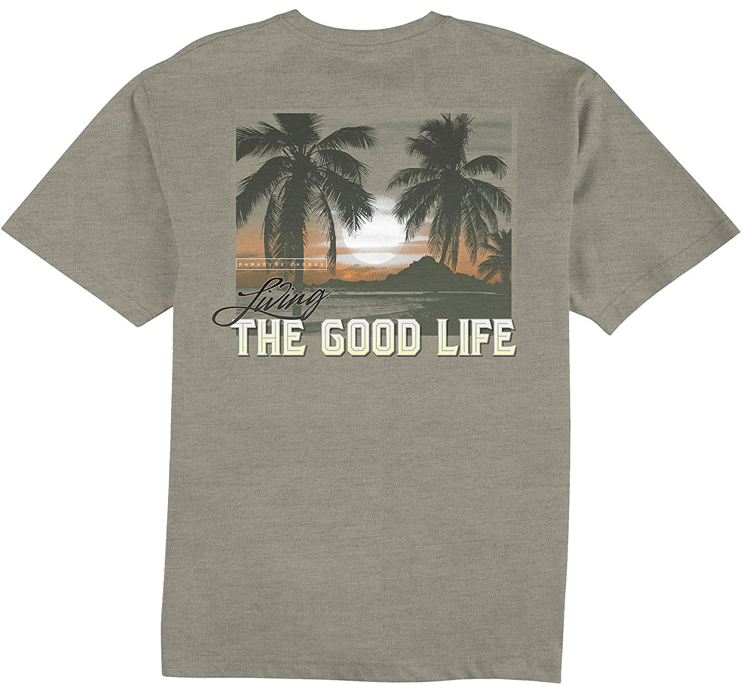 Paradise shores mens living the good life t shirt xx large for Successful t shirt brands