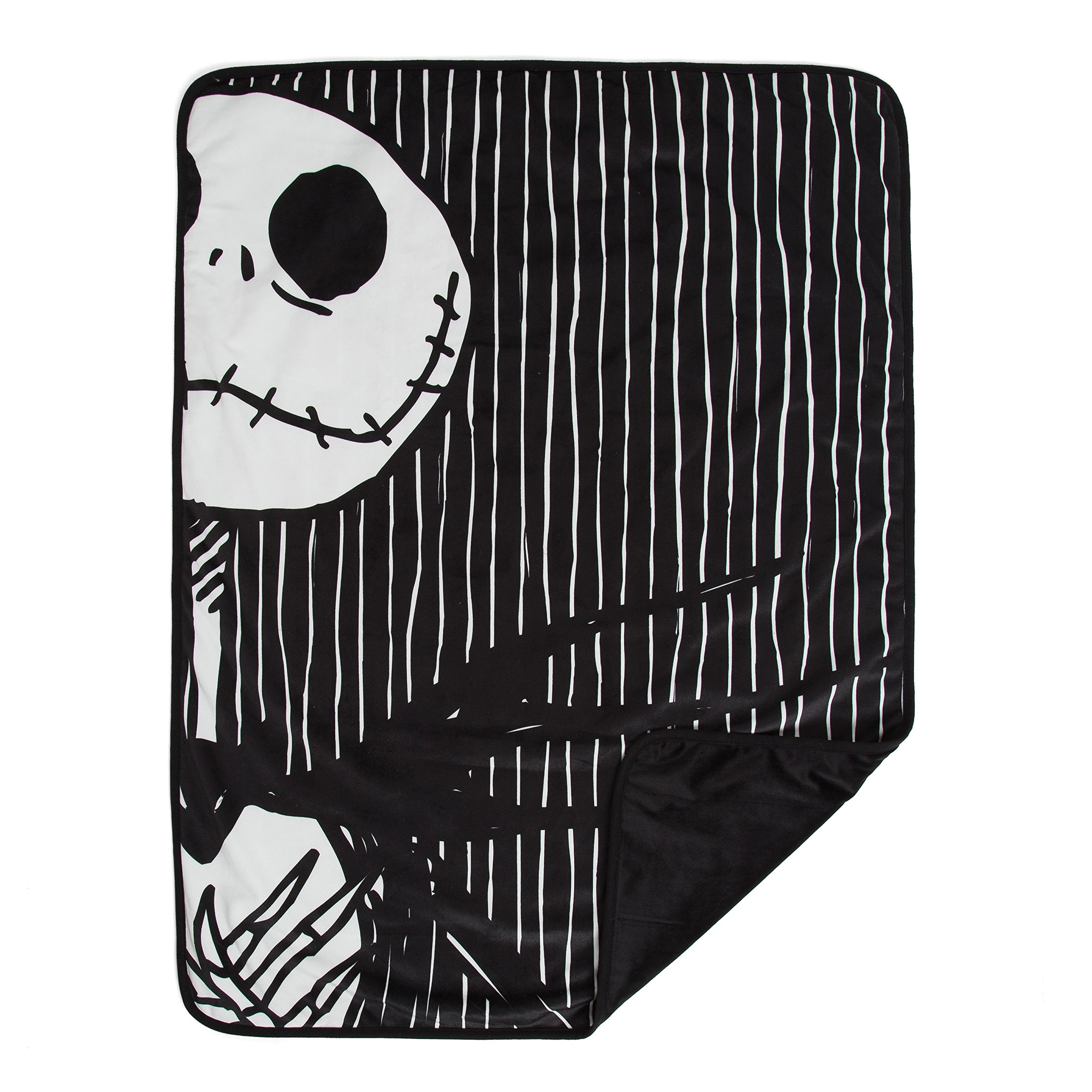 "Disney Nightmare Before Christmas Jack Skellington Luxury Multi-Functional Pet Throw Blanket, Portable Dog/Cat Mat, 30""x40"", Collector's Edition"