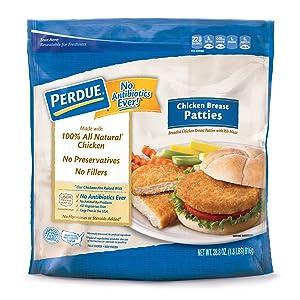 Perdue, Breaded Chicken Breast Patties, 1.8 oz (Frozen)