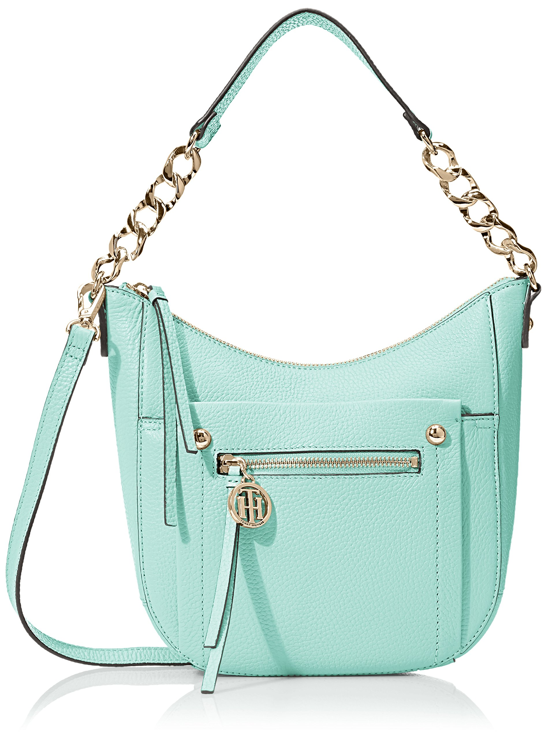 Tommy Hilfiger Tessa Hobo Bag, Sea Glass, One Size by Tommy Hilfiger