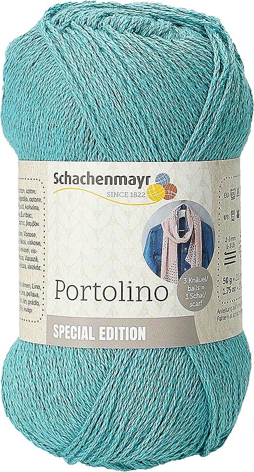Schachenmayr 9807877-00150 Hilo para tejer a mano, 53% algodón, 33 ...