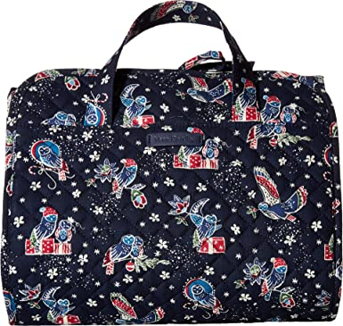 5bc72ca981 Image Unavailable. Image not available for. Color  Vera Bradley Women s Iconic  Hanging Travel Organizer ...