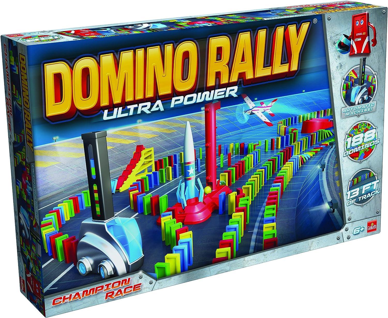 Goliath Domino Rally Ultra Power - Juego de dominó basado en Stem para niños, Multicolor: Amazon.es: Juguetes y juegos