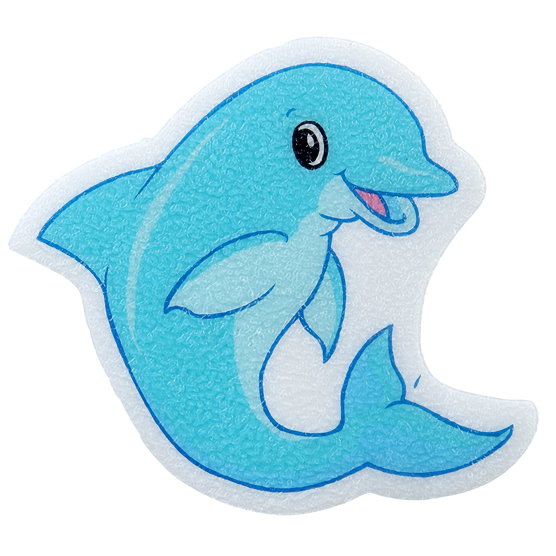 Amazon.com: SlipX Solutions Adhesive Bath Treads: Dolphin Tub ...