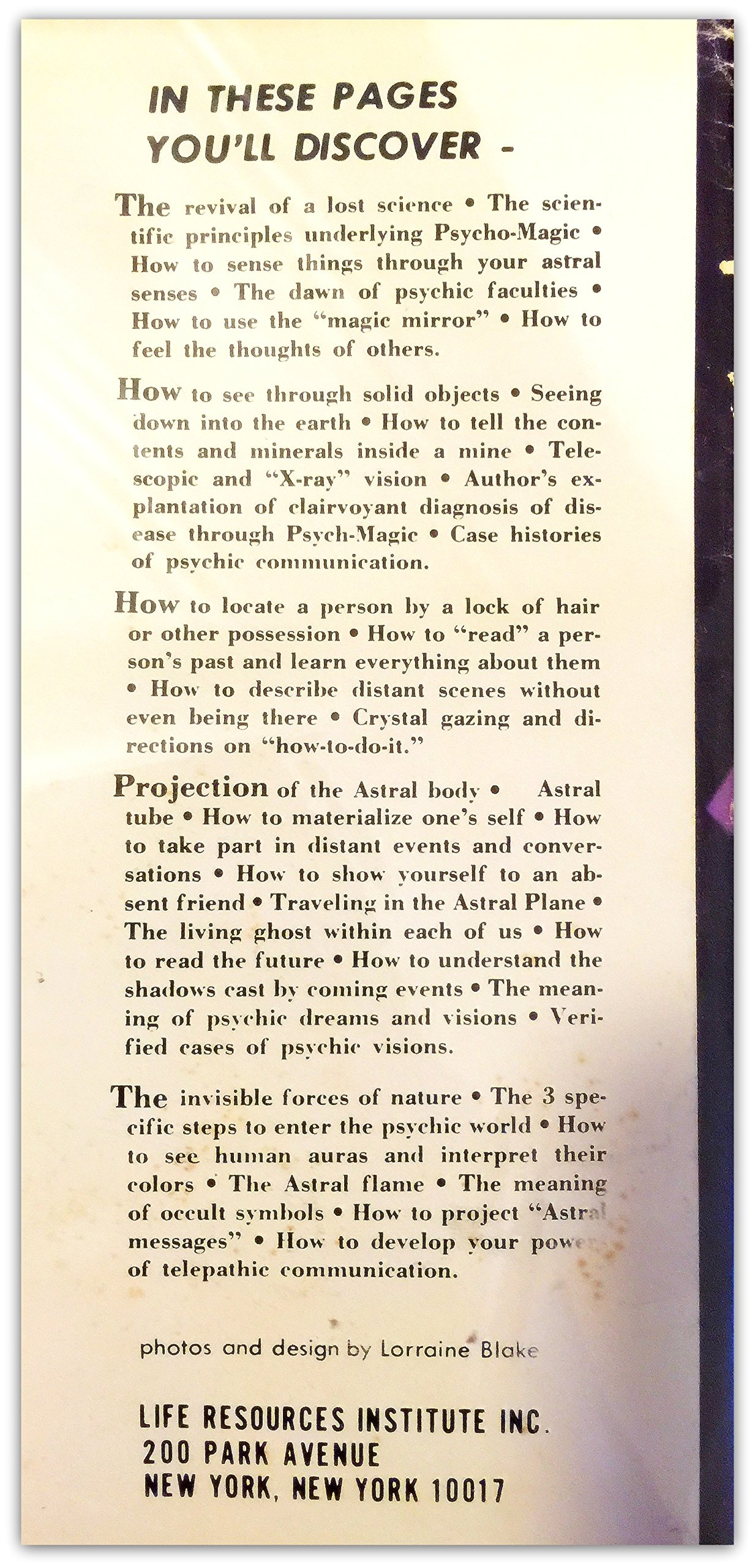 Psycho Magichow To Used The Psychic Powers Of The Astral Plane