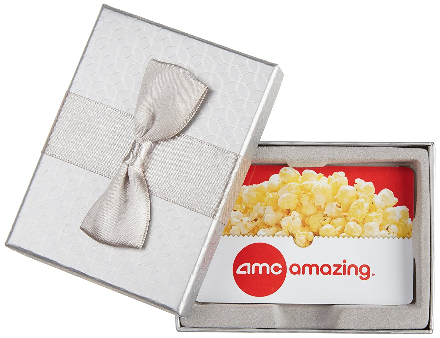 Amazon.com: AMC Theatres $50 Gift Card - In a Gift Box: Gift Cards
