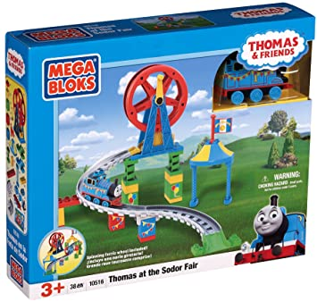 Mega Bloks Thomas En La Feria De Sodor