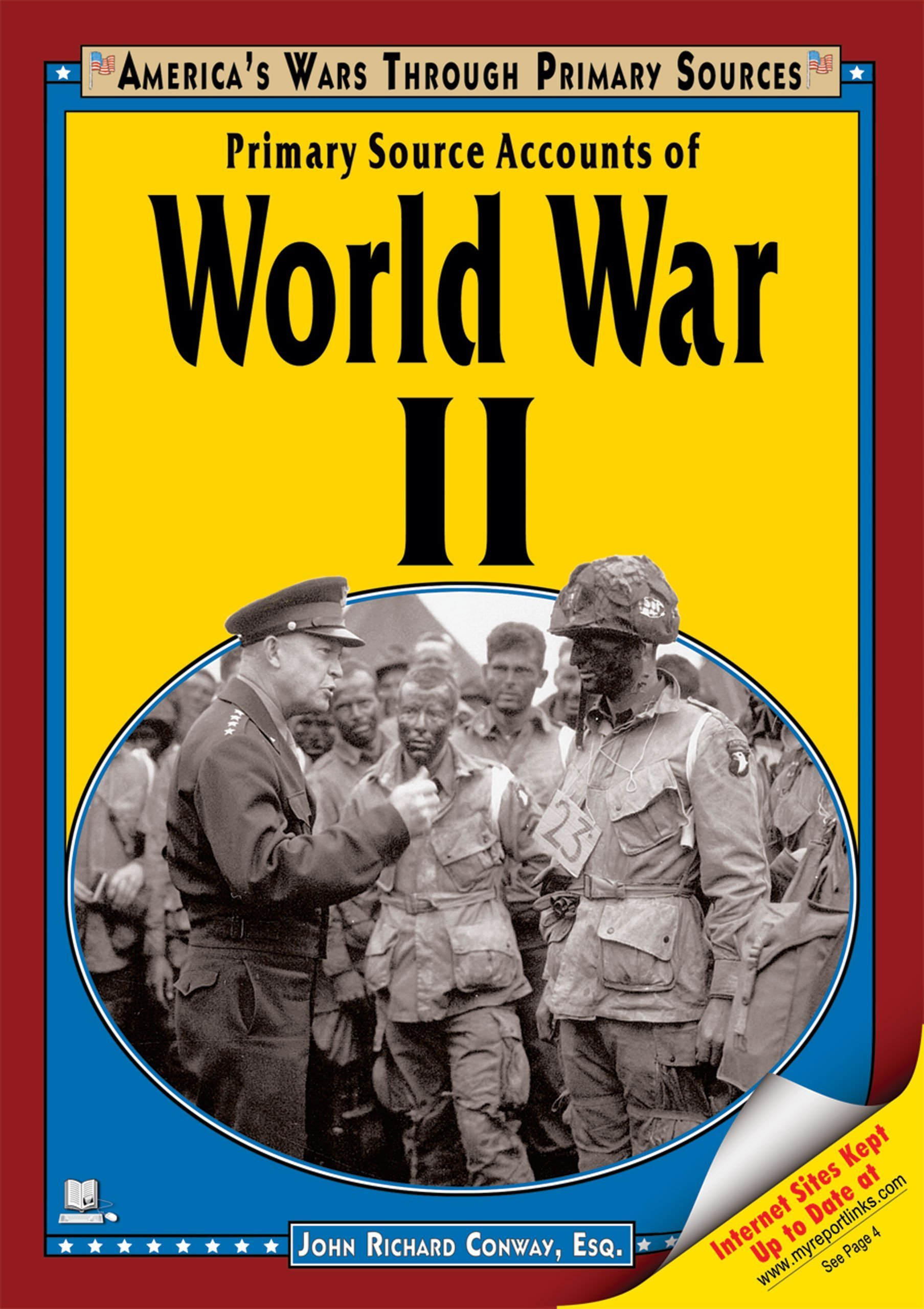 Download Primary Source Accounts of World War II (America's Wars Through Primary Sources) pdf epub