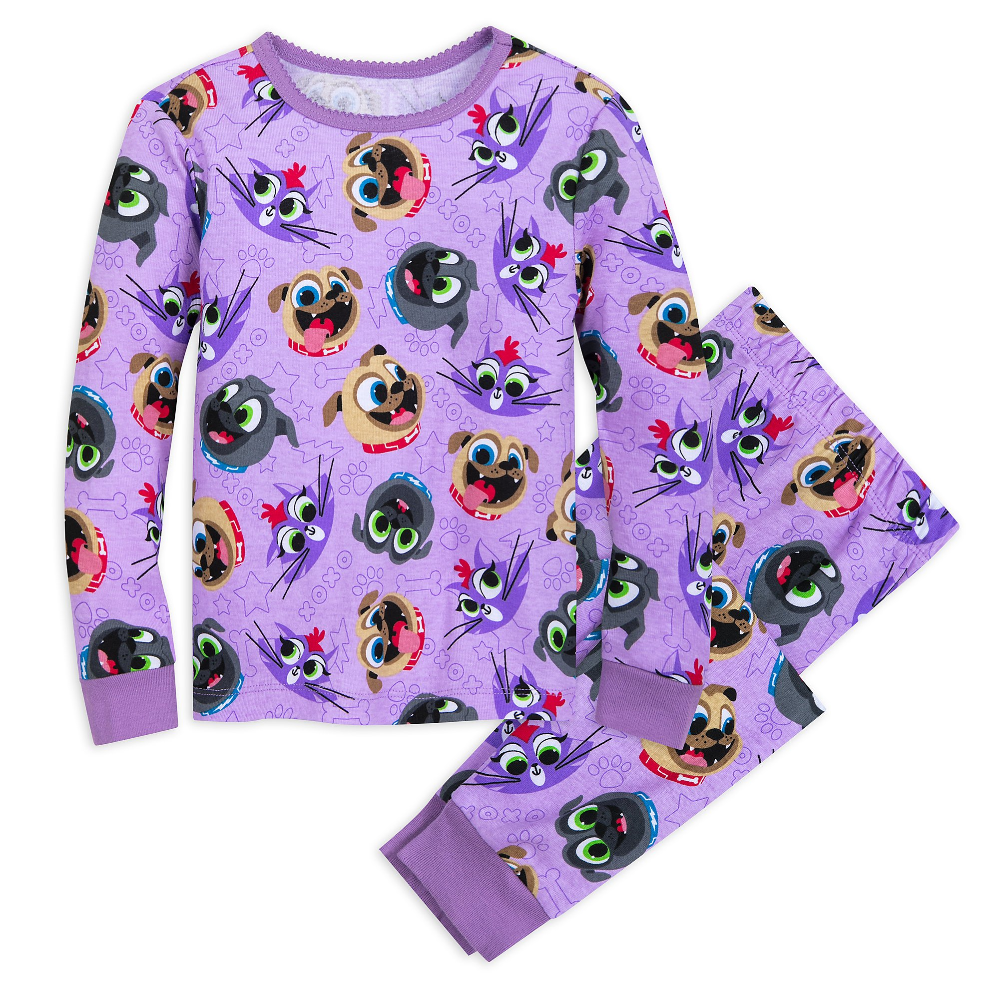 Disney Puppy Dog Pals PJ PALS for Girls Size 2 Multi