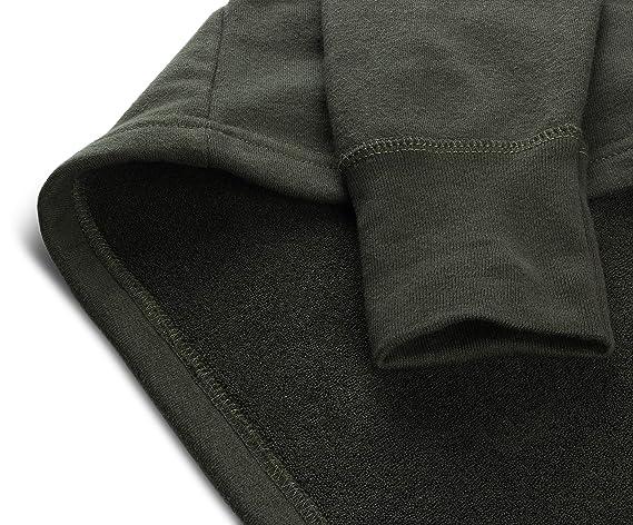 weich und wärmend Bundeswehr Herren Frottee Thermounterhemd aus 100 /% Baumwolle