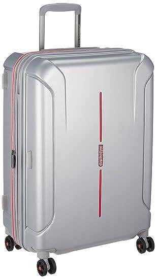 American Tourister Technum Spinner 6824 Tsa Exp Aluminium: Amazon.es: Equipaje