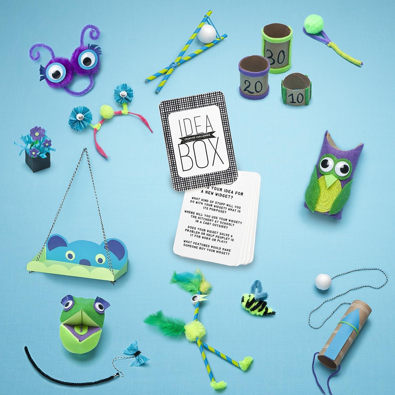 Amazon Com Craft Tastic Idea Box Creative Challenge Craft Kit Toys