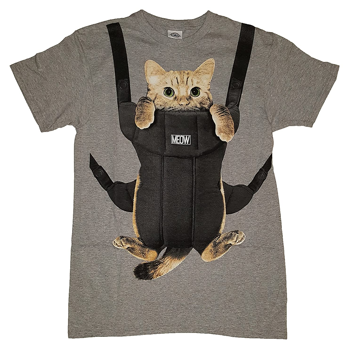 Amazon Kitty Cat Carrier Graphic T Shirt Clothing