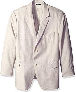 Perry Ellis Mens Big-Tall Linen Suit Vest