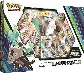 Pokémon POK80623 TCG: Caja Alolan Marowak-GX, Colores ...