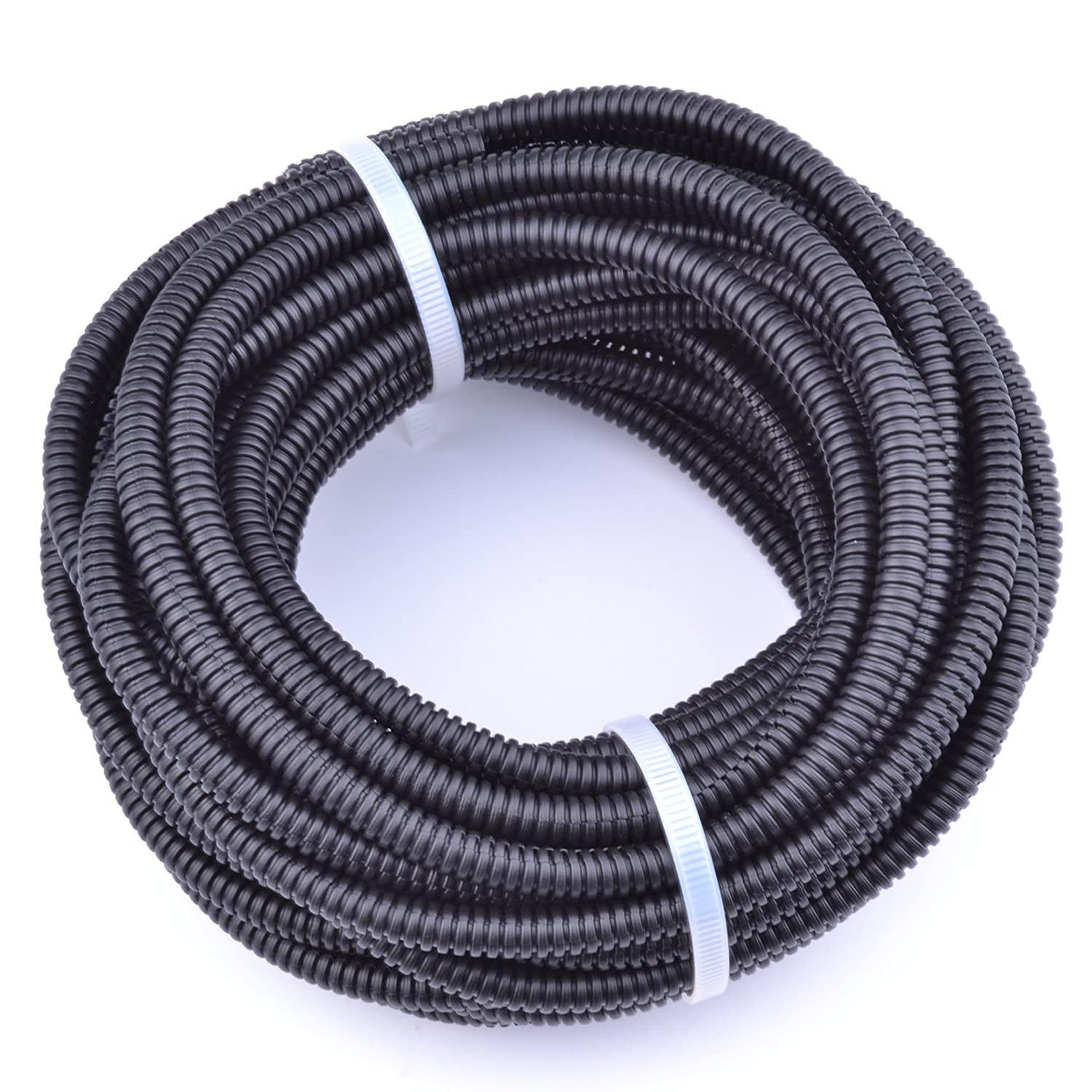 Incredible Amazon Com 30Ft Polypropylene Split Wire Loom Tubing Computer Cable Wiring Database Pengheclesi4X4Andersnl