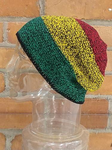 88cce8a6d78 Amazon.com  XL EXTRA Large-Long Skull Cap Beanie Hat Crochet 100 ...