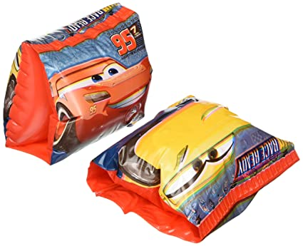 Amazon.com: Disney Cars 3 inflables flotadores de brazo – 2 ...