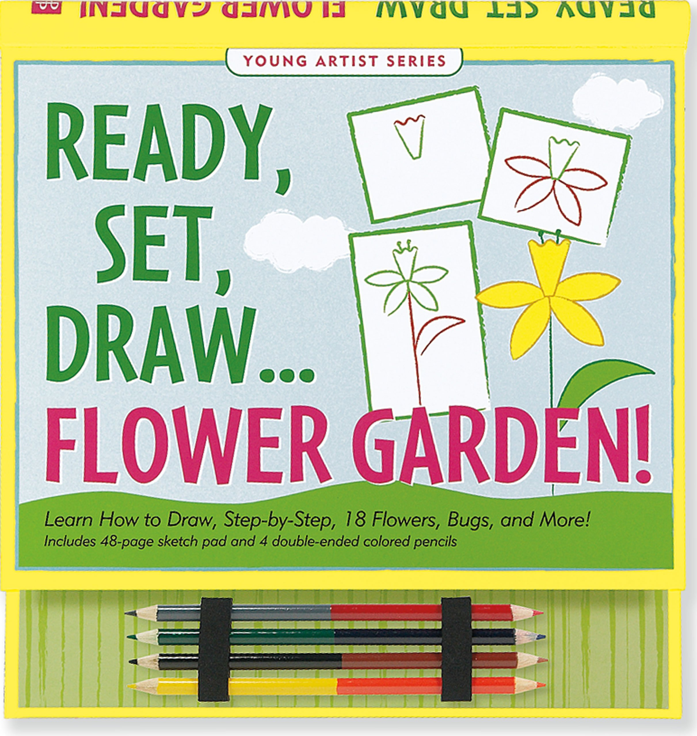 Ready, Set, Draw Flower Garden! (How to Draw Activity Book) (Young Artist) pdf