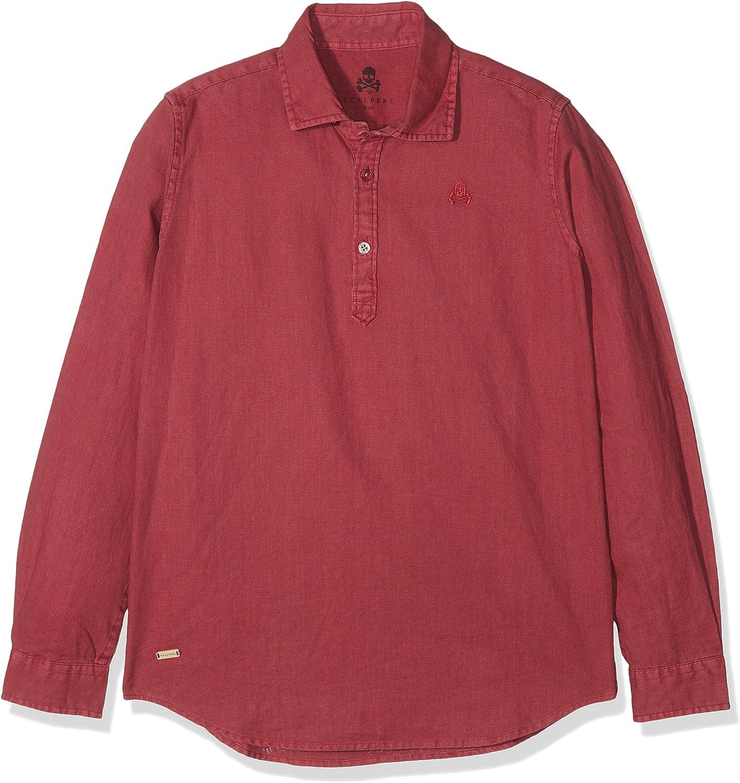 Scalpers Polera PPT Camisa, Rosa (Pink), 10 años (Tamaño del Fabricante:10) para Niños: Amazon.es: Ropa y accesorios