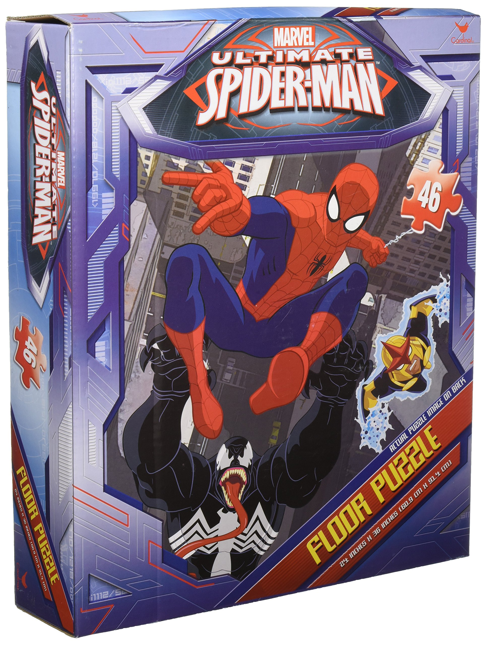 Spiderman Floor Puzzle 46 Count, styles will vary by Spider-Man