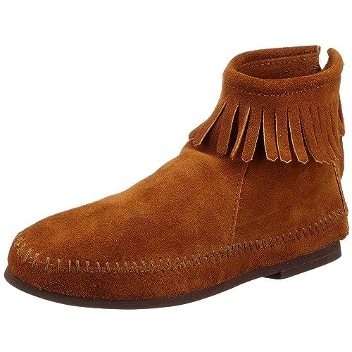 Minnetonka - Botas mocasines para mujer: Amazon.es: Zapatos y complementos