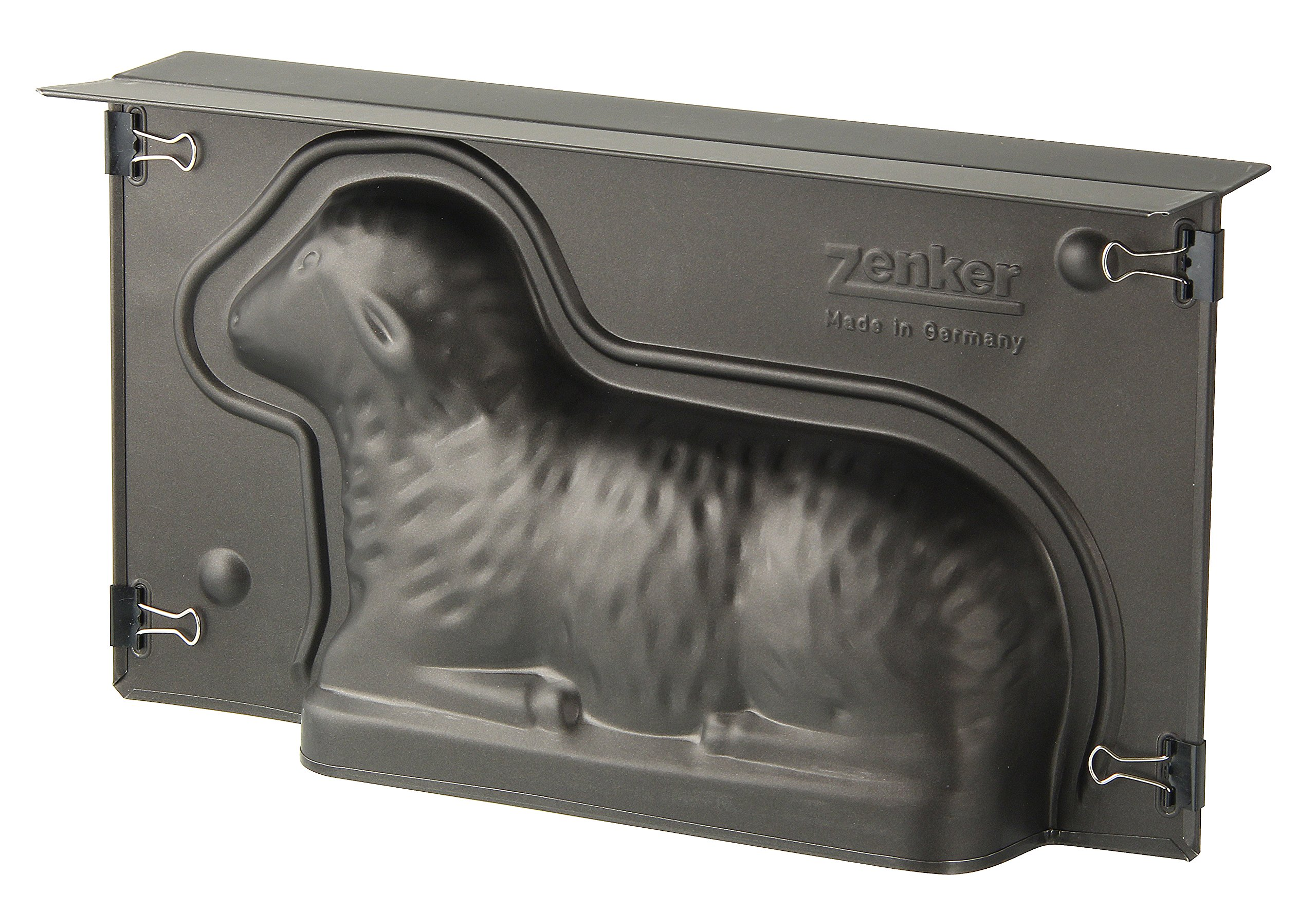 Zenker 9101''Special Season'' Lamb-Baking Tin, Black, 10.83 x 5.90 x 2.56''