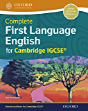 Complete First Language English for Cambridge IGCSE Student Book (Igcse First Language)