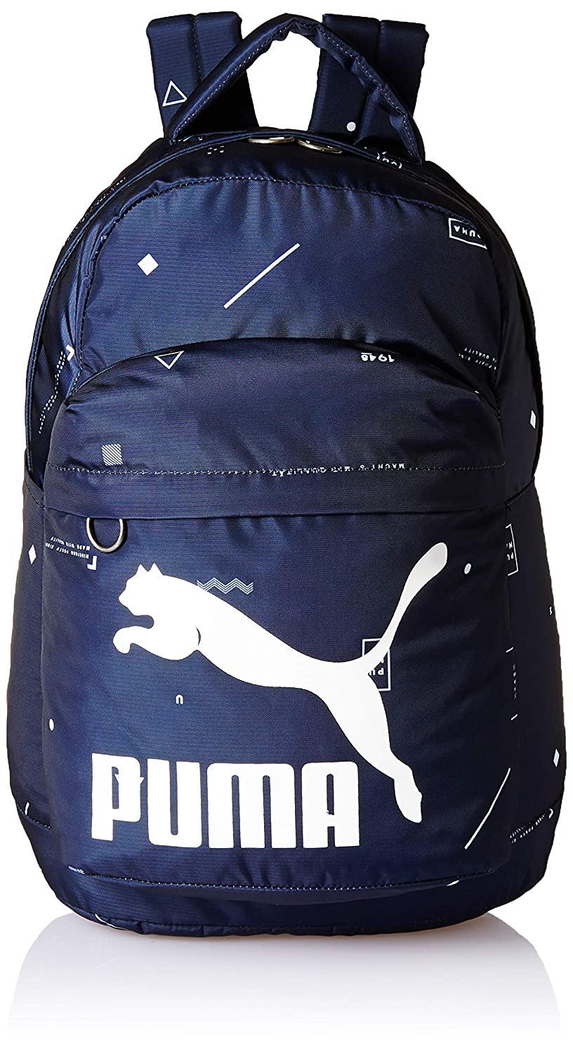 6006bd406c7 Puma 22.95 Ltrs Peacoat-Graphic School Backpack (7567607): Amazon.in: Bags,  Wallets & Luggage