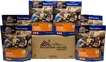 Mountain House Frozen Lasagna with Meat Sauce