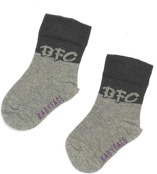 bfc Babyface - Calcetines gris de 80% algodón 15% Polyamid 5% elastano, talla: 50/56cm (0-3 meses): Amazon.es: Bebé