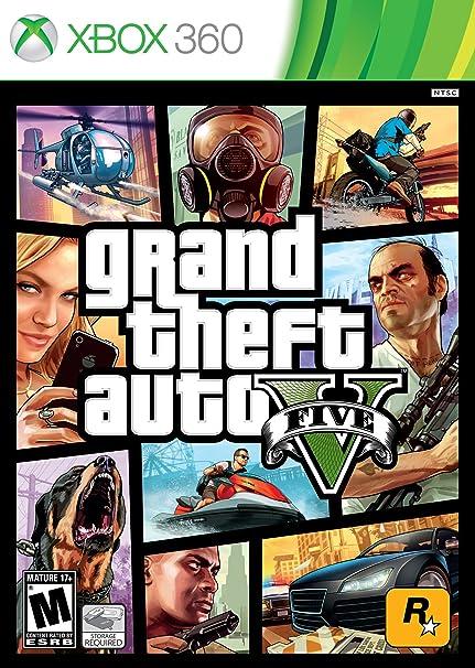 Amazon com: Grand Theft Auto V: Xbox 360: Video Games
