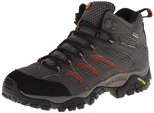 Moab 2 GTX, Zapatillas de Senderismo para Mujer, Gris (Beluga Beluga), 41 EU Merrell