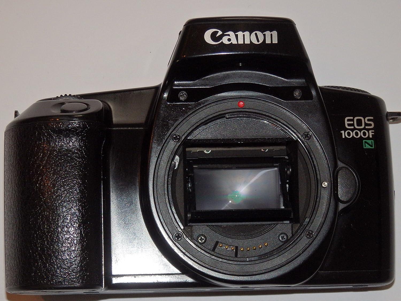Canon EOS 1000 F N – Fotos – Color negro – Cámara réflex analógica ...