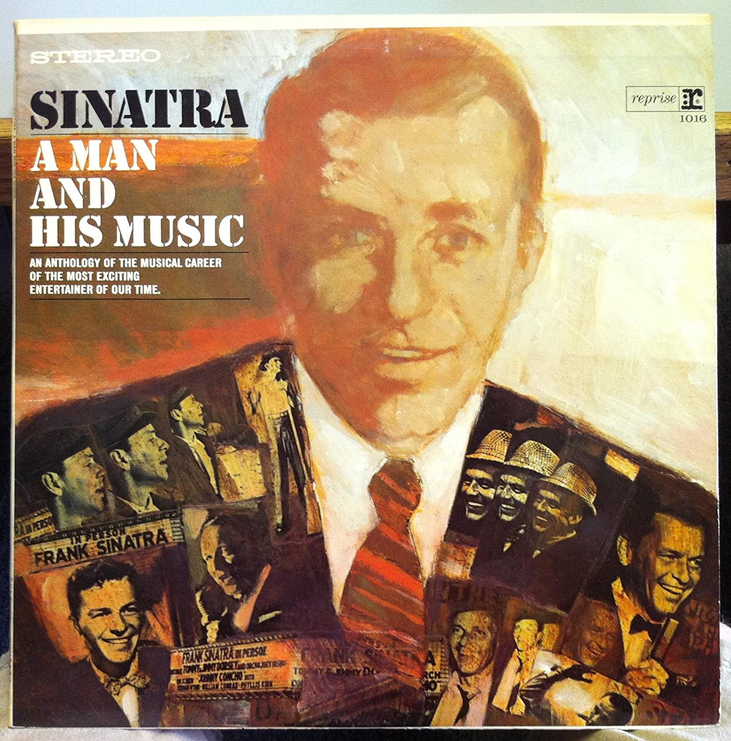 New color Sinatra: A Man Music His Topics on TV and