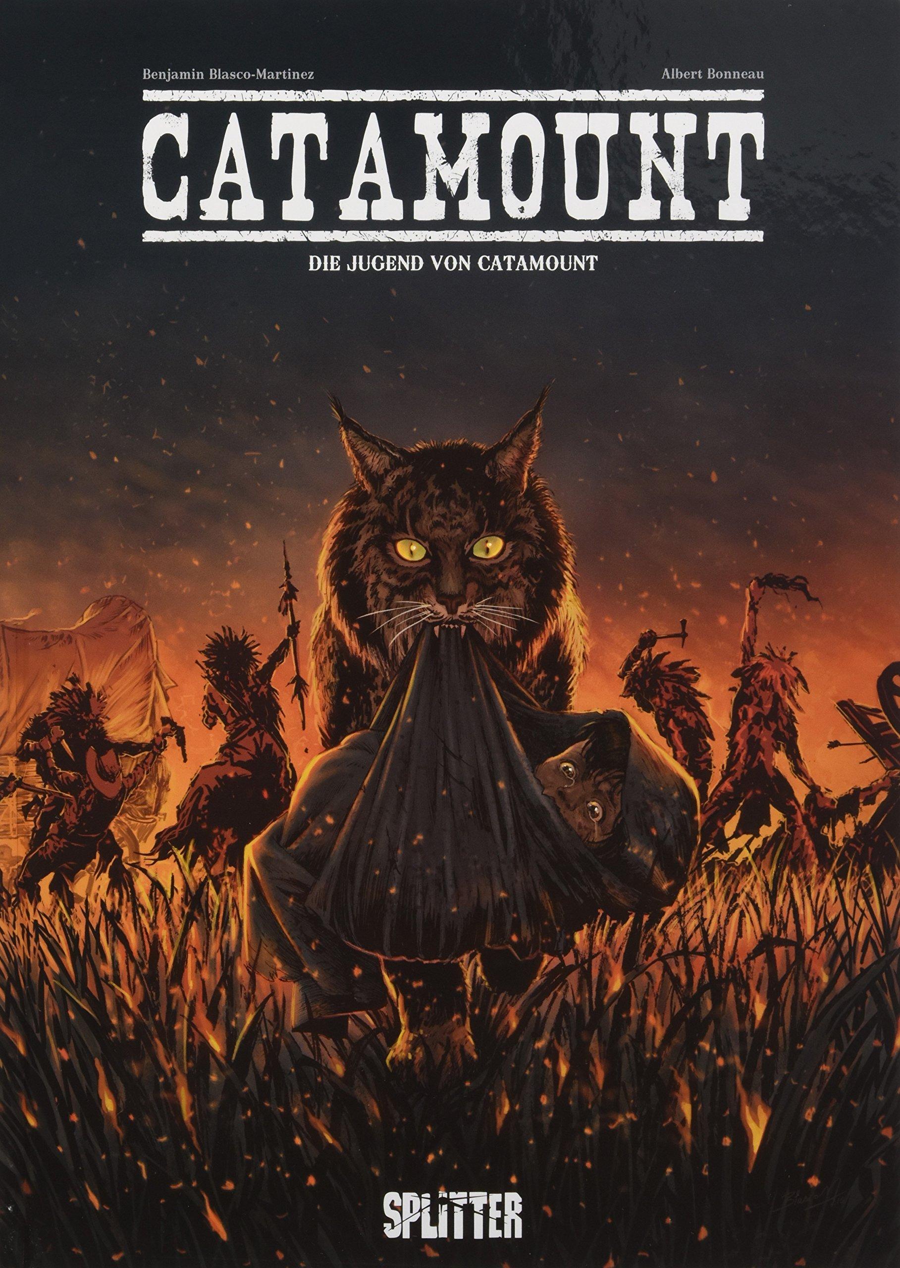 Catamount. Band 1: Die Jugend von Catamount