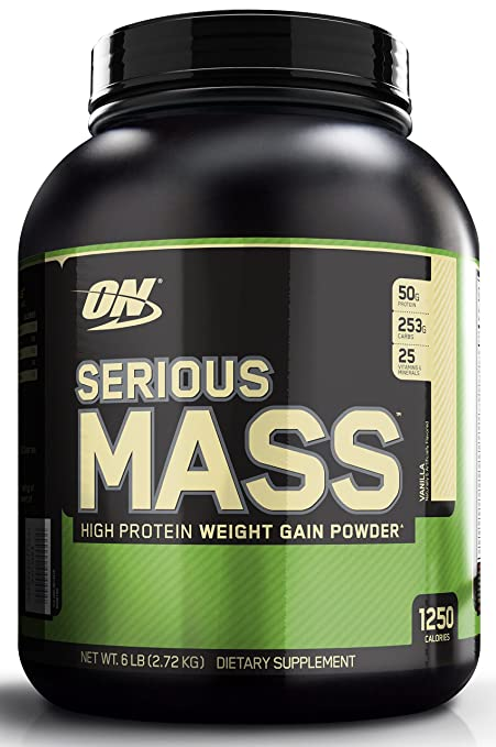 Top 10 mass gainers