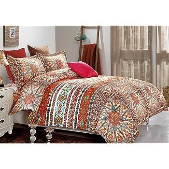 Amazon Com Echo Jaipur Twin Comforter Set Home Amp Kitchen