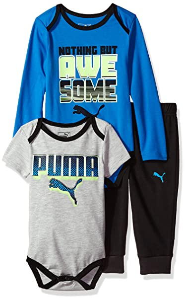 18fc0175df140 PUMA Baby-Boys Boys' Three Piece Set Sweatsuit: Amazon.ca: Clothing ...