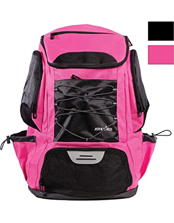 7c22130f85 Athletico Swim Backpack - Swim Bag with Wet   Dry Compartments for  Swimming