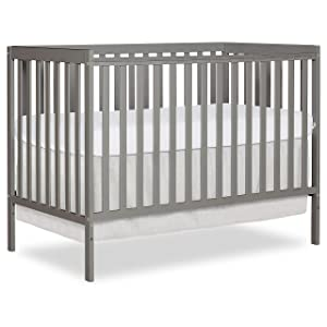 Dream On Me, Synergy5-in-1 Convertible Crib, Cool Grey