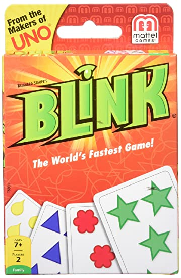 Mattel Games Blink – The Worlds Fastest Game!